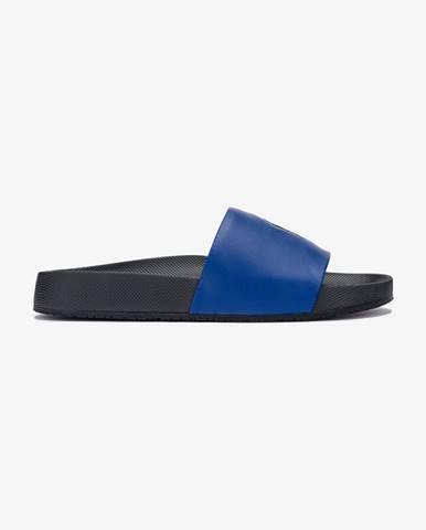 Čierne papuče Polo Ralph Lauren