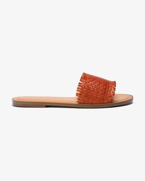 Oranžové papuče Aldo
