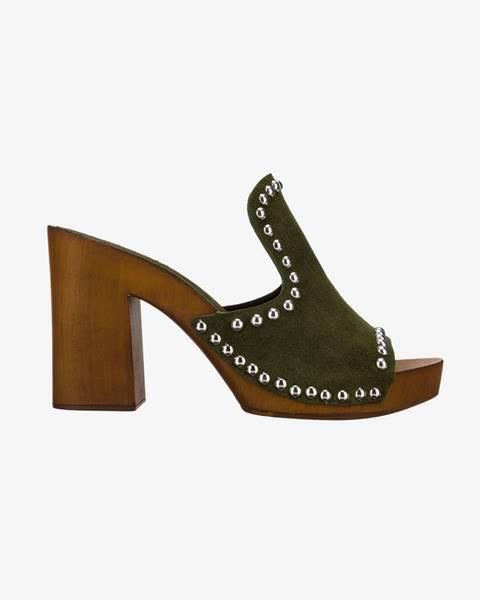 Zelené topánky Replay