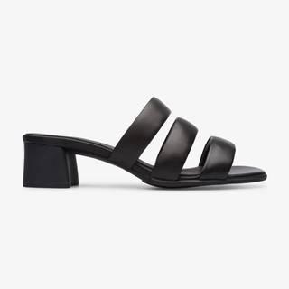 Papuče, žabky pre ženy  - čierna