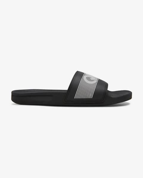 Čierne papuče Quiksilver