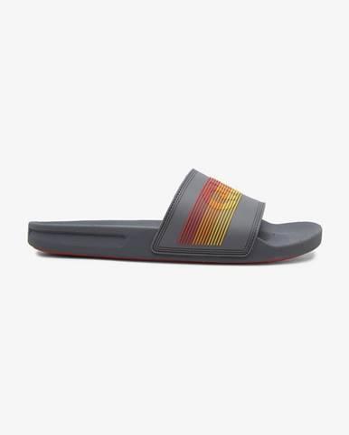Sivé papuče Quiksilver