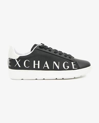 Čierne tenisky Armani Exchange