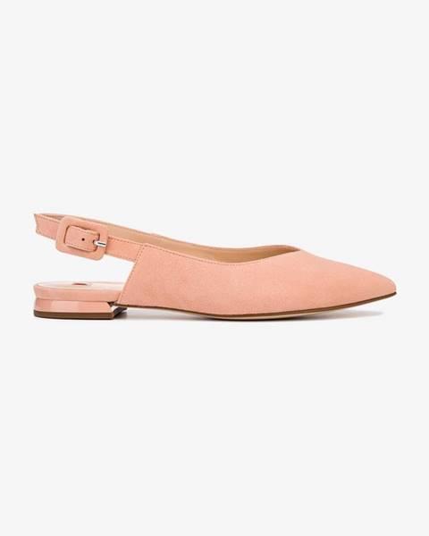 Béžové topánky Högl