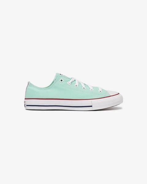 Zelené topánky Converse