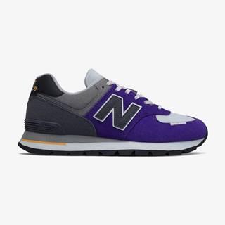 Tenisky, espadrilky pre mužov  - sivá, fialová