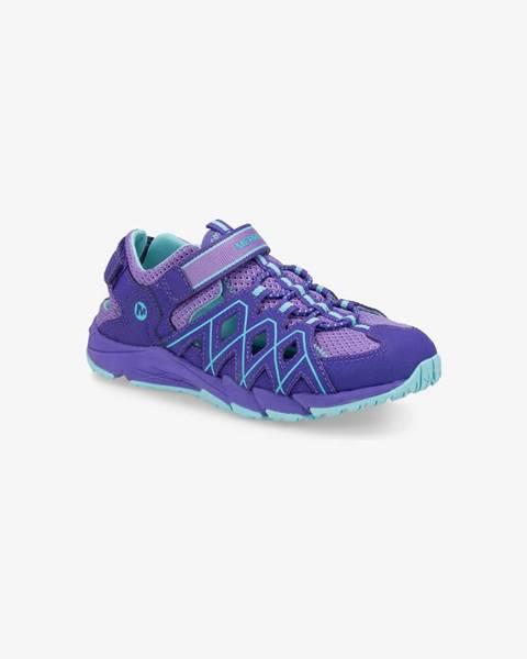 Fialové topánky Merrell