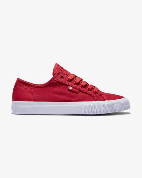 Červené tenisky DC