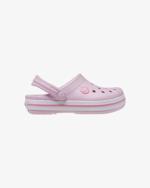 Ružové topánky Crocs