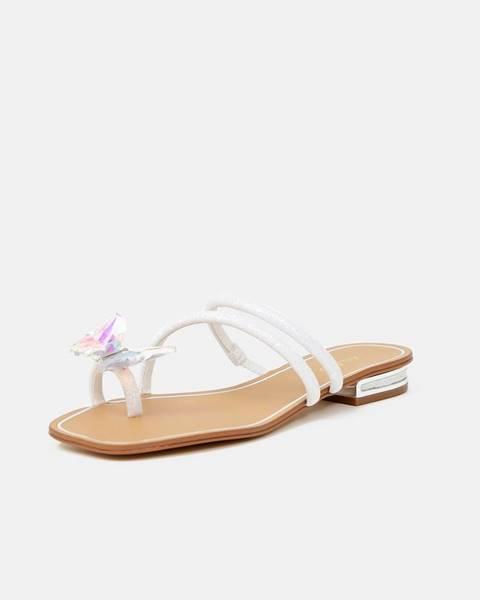 Biele papuče Aldo
