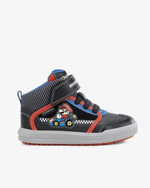 Sivé topánky Geox