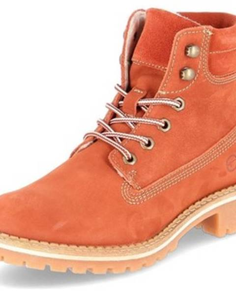 Oranžové topánky Tamaris