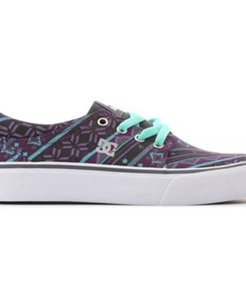 Fialové tenisky DC Shoes