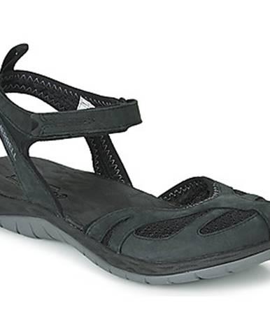 Čierne športové sandále Merrell