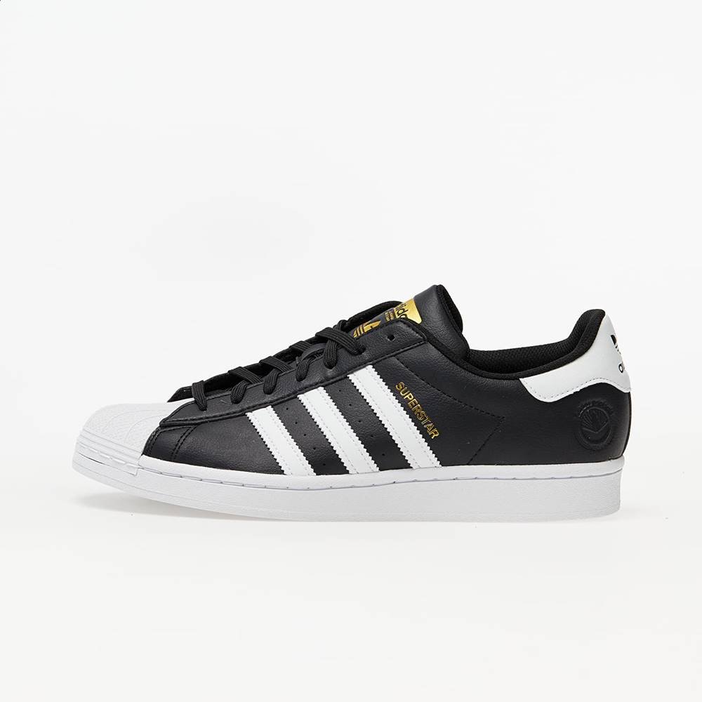adidas Originals adidas Superstar Vegan Core Black/ Ftw White/ Gold Metalic