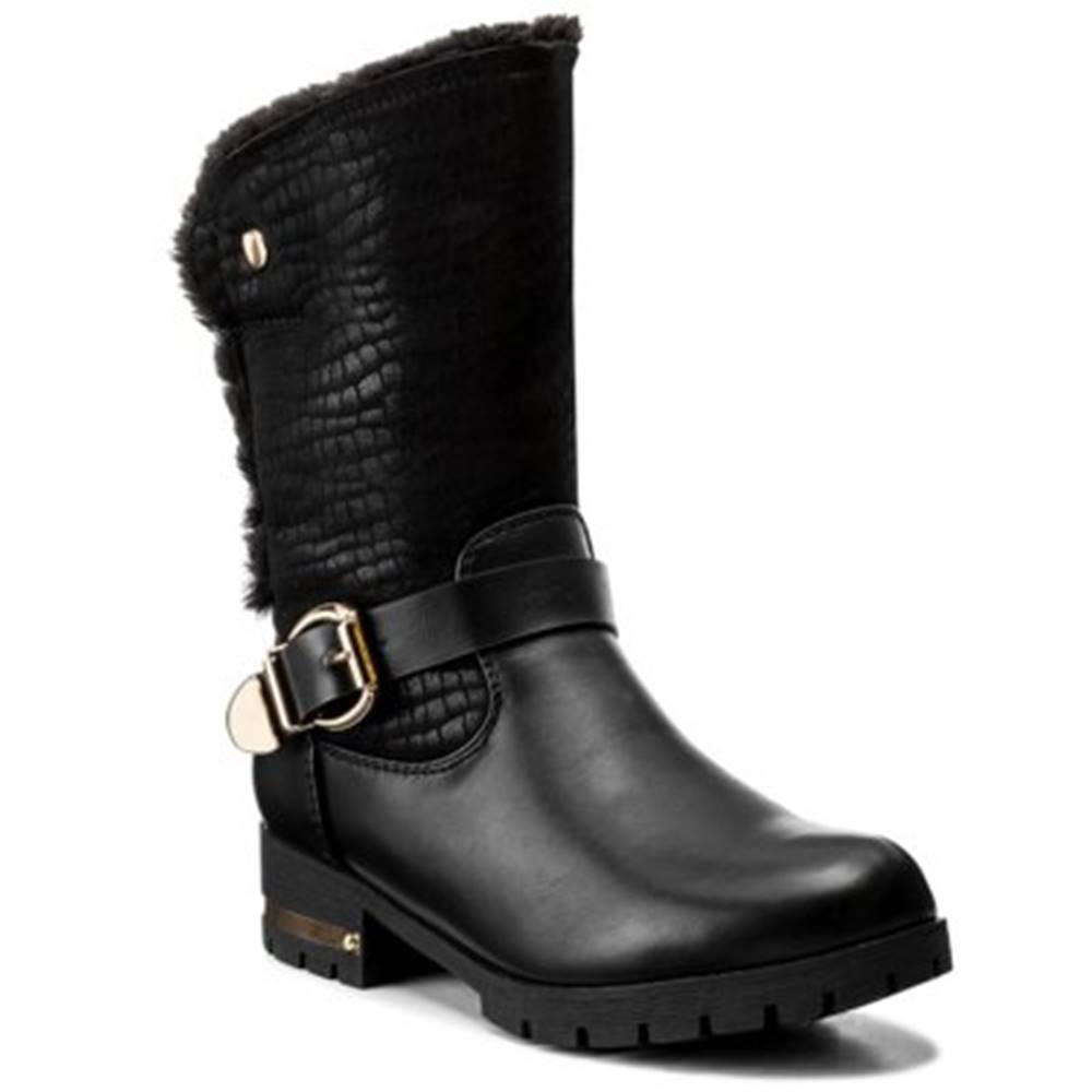 Jenny Fairy Členkové topánky  WSX158 Materiał tekstylny,koža ekologická