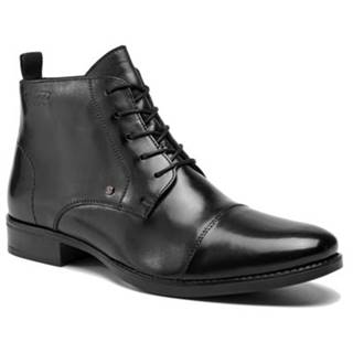 Šnurovacia obuv Lasocki for men MI08-C315-354-04 Prírodná koža(useň) - Lícova