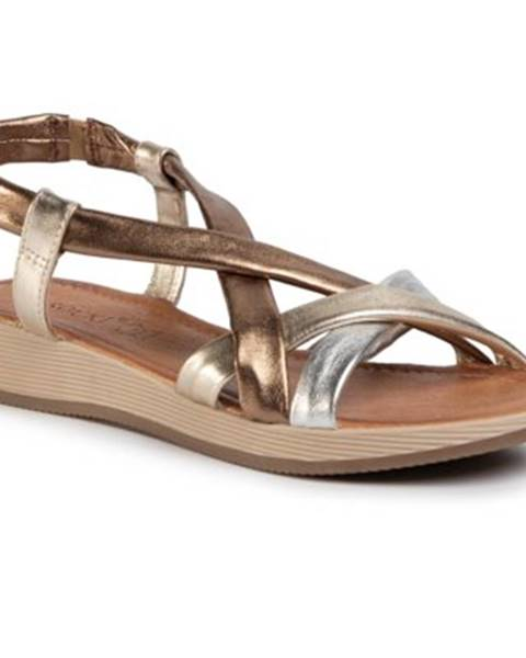 Zlaté sandále Lasocki