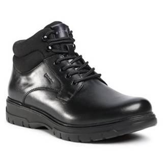 Šnurovacia obuv GO SOFT MI07-B12-A841-01 Prírodná koža(useň) - Lícova