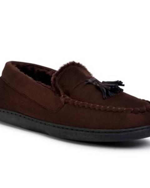 Hnedé papuče Home&Relax