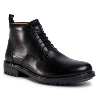 Šnurovacia obuv Gino Rossi MB-ROOSEVELT-01 Prírodná koža(useň) - Lícova