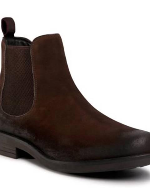 Hnedé topánky Lasocki for men