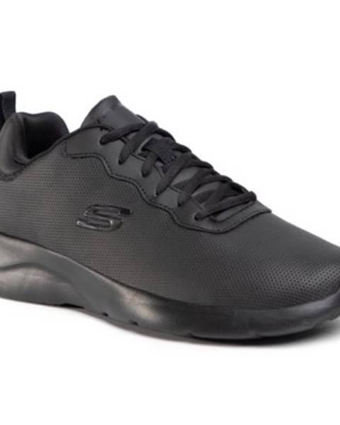 Čierne topánky Skechers
