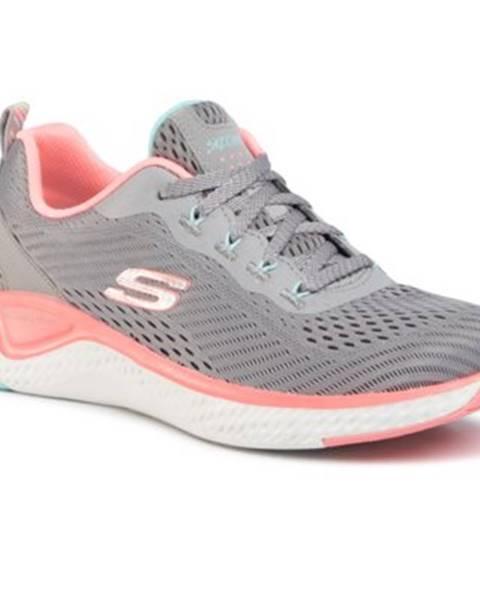 Šedé topánky Skechers
