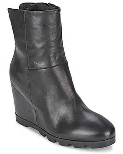 Čierne topánky OXS