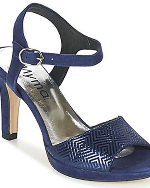Modré topánky Myma