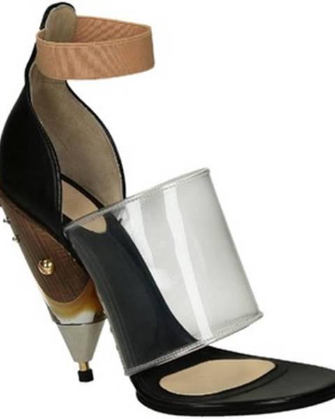 Čierne topánky Givenchy