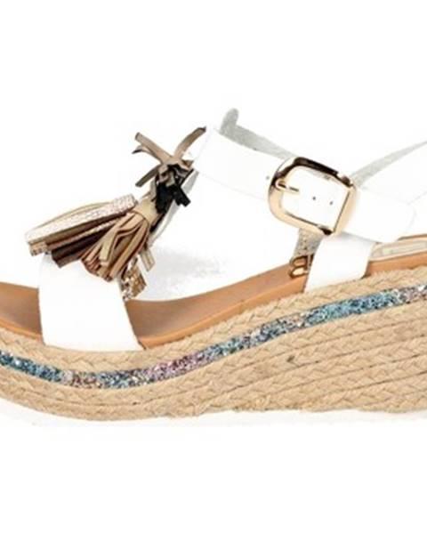 Biele topánky Laura Biagiotti