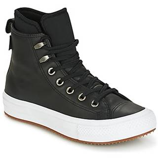 Členkové tenisky Converse  CHUCK TAYLOR WP BOOT WP LEATHER HI BLACK/BLACK/WHITE