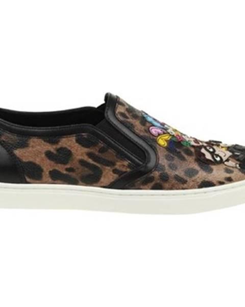 Viacfarebné topánky D G