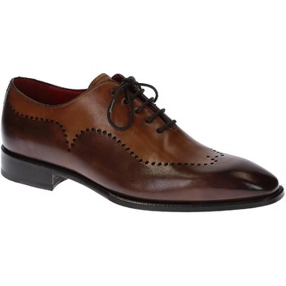 Leonardo Shoes Derbie Leonardo Shoes  06881 14221 FORMA SCA MONTECARLO DELAVE BR