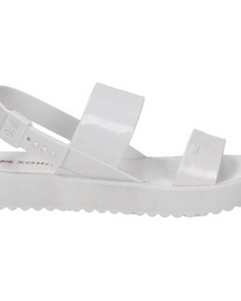 Biele topánky Zaxy