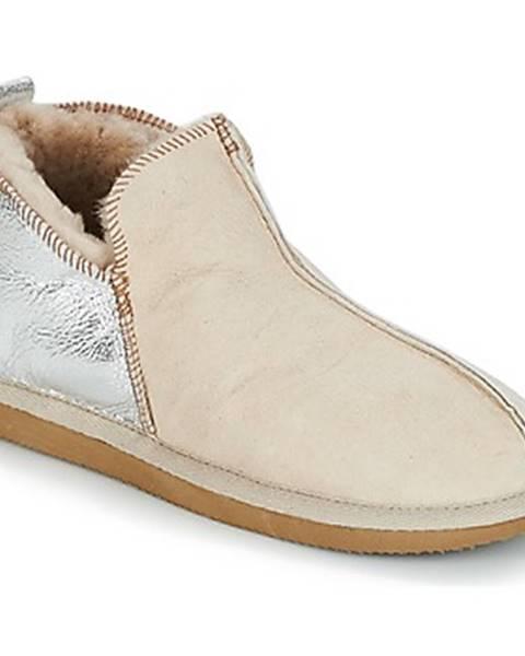 Biele papuče Shepherd