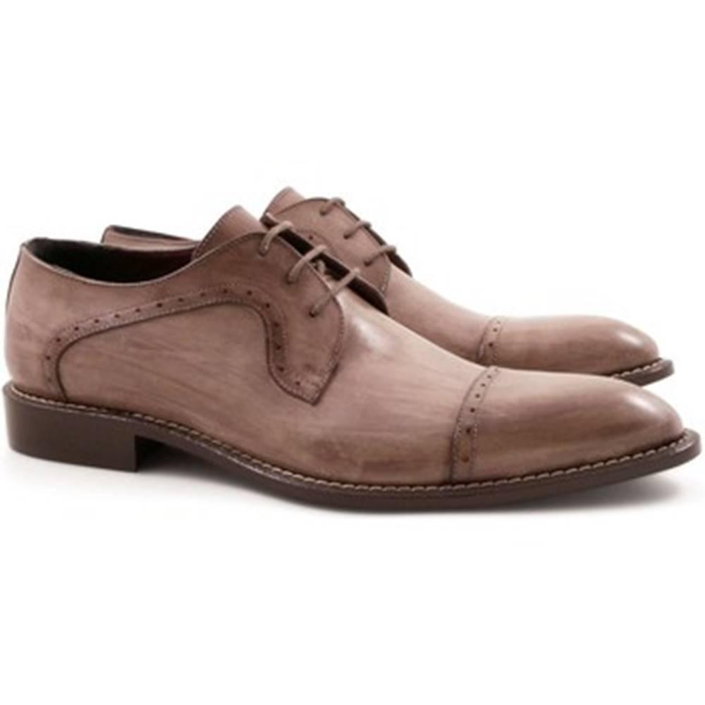 Leonardo Shoes Richelieu Leonardo Shoes  3283/1 TAMP.DELAVE TORTORA
