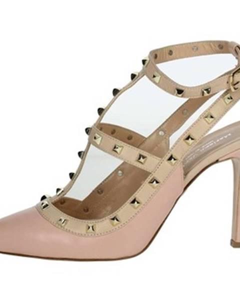 Ružové topánky Mariano Ventre