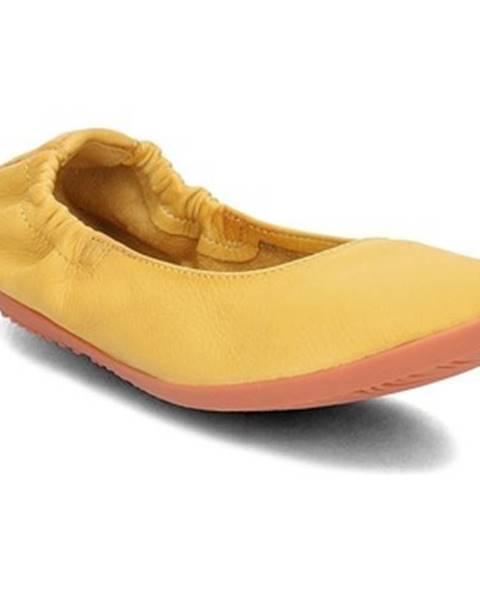 Žlté topánky Softinos