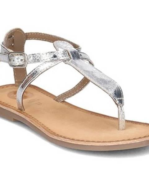 Strieborné topánky Gioseppo