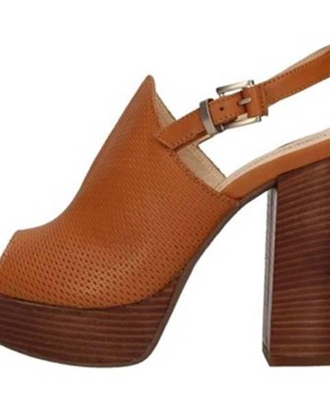 Hnedé topánky Lorenzo Mari
