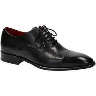 Richelieu Leonardo Shoes  06884 14221 NERO