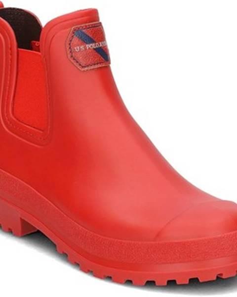 Červené čižmy U.S Polo Assn.