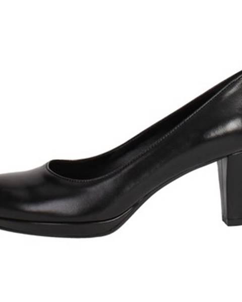 Čierne topánky Rosso Reale