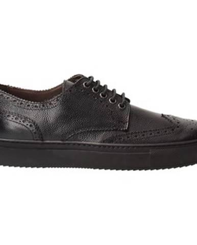 Čierne topánky Fabiano Ricci