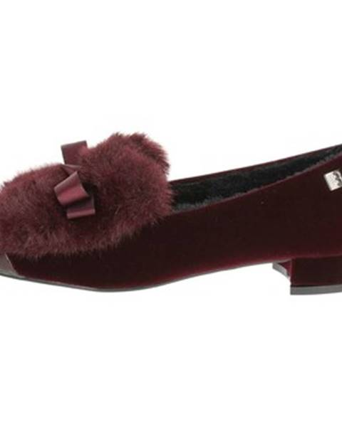 Červené topánky Laura Biagiotti