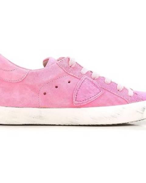 Ružové tenisky Philippe Model
