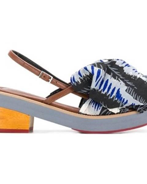 Viacfarebné topánky Marni