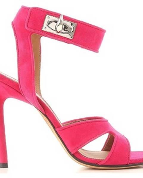 Ružové topánky Givenchy